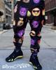 Men Emoji Sweatpant Joggers - Black