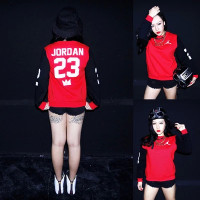 """JORDAN 23"" MVP Pullover Sweater - Red at BrytCouture"