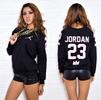 """JORDAN 23"" MVP Pullover Sweater - Black"