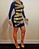Keyshia Long Sleeves Mini Bodycon Dress
