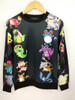 Unisex Cartoon Joggers and Pullover Sweater - Set