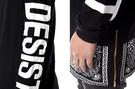 CEASE DESIST Bandana Extended Mens Long Sleeve T-Shirt