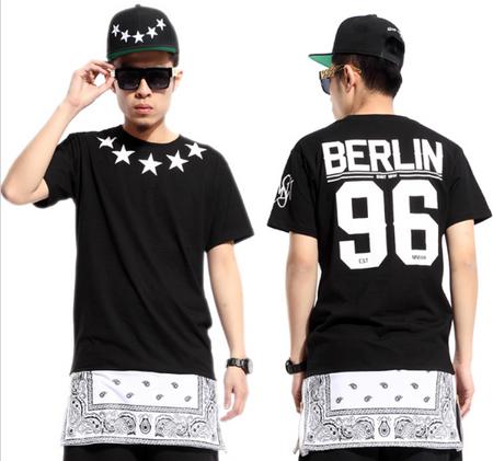 Berlin 96 Bandana Extended T-shirt