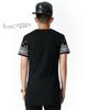 Bandana Leather Patchwork Men T-shirt