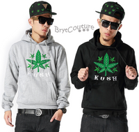 Kush Embroidery Hip Hop Hoodie
