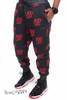 Keep It 100% Emoji Limited Edition Joggers Sweatpants - Black
