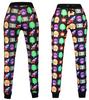 Emoji Joggers Sweatpant  and Sweatshirt - Set  black