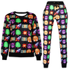 Emoji Joggers Sweatpant  and Sweatshirt - Set