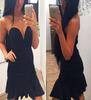 Kiara's Mini Black Dress