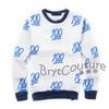 BrytCouture Limited Edition 100 Emoji Sweatshirt Blue