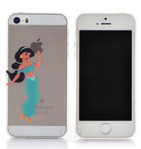 Transparent  Fairy Tale Jasmine Princess iPhone Cover
