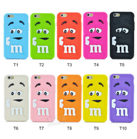 New Trends M&M's Silicon iPhone Cover Case
