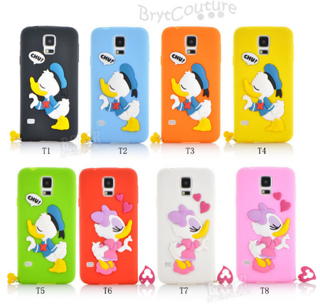 Mickey Minnie Mouse Cartoon Silicon Case Samsung With Ring