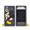 Mickey Minnie Mouse Cartoon Silicon iPhone Case With Ring