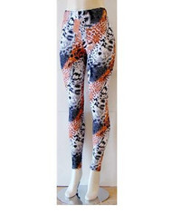 Gorgeous Print Design Stretch and Comfy Fit Leggings