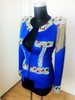 Queen B and Lady Gaga Style Blue Stage Jacket