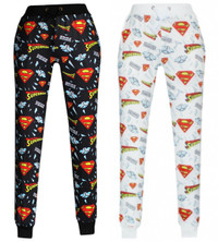 Unisex Superman Strike Zone Signature Print Sweatpant Joggers