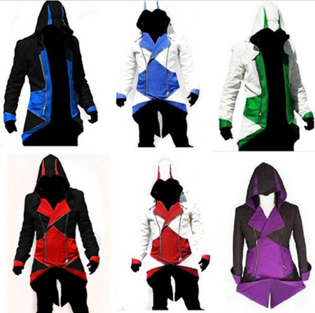 Assassins Creed Conner's Hooded Coats
