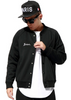 Bedwin & The Heart Breakers Black Versity Jacket Front