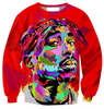 Tupac 3D Art Print Unisex Sweatshirt