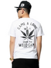"""Came A Long Way From The Weed Game"" Men Hiphop T-Shirt White"