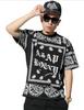 2015 Hip Hop Style ASAP Bandanna T-Shirt  Black