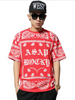 2015 Hip Hop Style ASAP Bandanna T-Shirt Red