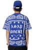 2015 Hip Hop Style ASAP Bandanna T-Shirt  Blue