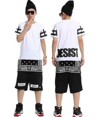 CEASE DESIST Paisley Tyga Bandana Extended T-Shirt White