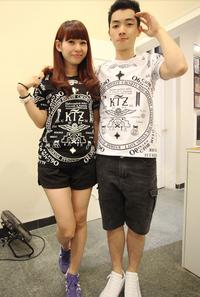 KTZ Kpop Dragon VIP Hip Hop T-Shirt - Unisex