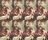 Custom Print Nativity Prayer Cards --Insert into Christmas Card (Custom set of 8)