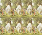 Custom Print Jesus with Children Prayer Cards (Custom set of 8)