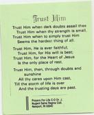 Trust Him Card