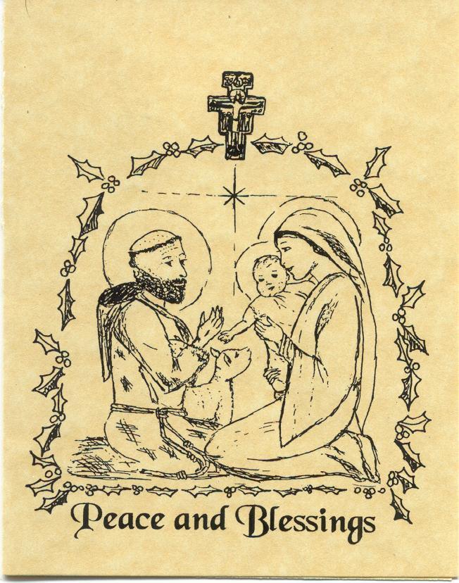 Saint Francis Christmas Cards