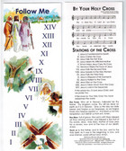 Stations of the Cross bookmark