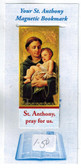 ST. Anthony magnetic bookmark