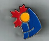 Christian Canadian Lapel Pin