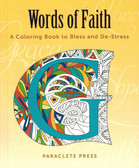 Words of Faith Coloring Book for Adults
