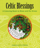 Celtic Blessings Coloring Book for Adults with Celtic pictures