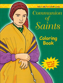 Catholic Coloring Book for Adults Communion of Saints