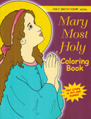 Blessed Virgin Mary Coloring Book for Adults