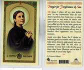 Prayer for Forgiveness of Sins by Saint Gemma Galgani