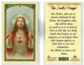 Laminated Prayer Card for The Lord's Prayer.