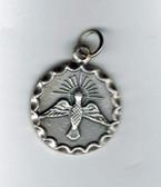 Holy Spirit Circular Medal