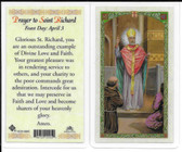Laminated Prayer Card to Saint Richard