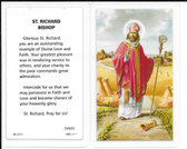 Laminated Prayer Card Prayer to Saint Richard Bishop