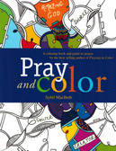 Pray and Color with Instructions-coloring book for adults
