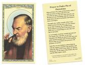 Prayer to Saint Padre Pio of Pietrelcina  Prayer Card