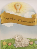 First Holy Communion Wall Plaque