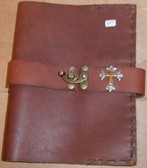 Hand Crafted Soft Brown Leather Breviary Cover
